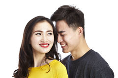 Portrait of young asian couple Stock Photo