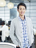 Portrait of a young asian entrepreneur Royalty Free Stock Images