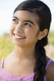 Portrait of Young Asian Girl Royalty Free Stock Photography