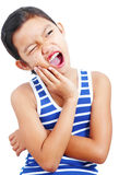 Girl With Toothache Stock Photo