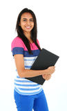 Portrait of young Asian student. Royalty Free Stock Photo