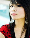 Portrait of young Asian woman Royalty Free Stock Photography