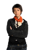 Portrait of Young Asian Woman Stock Photos