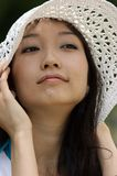 Portrait of a young Asian woman Royalty Free Stock Images