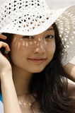 Portrait of a young Asian woman Royalty Free Stock Image