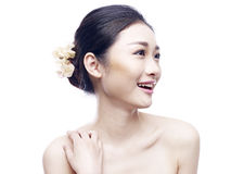 Portrait of a young asian woman Stock Photo
