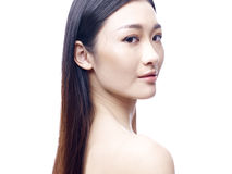 Portrait of a young asian woman Royalty Free Stock Photo