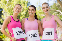 Portrait of young athlete women posing Royalty Free Stock Photography