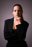 Young attractive business woman. Stock Photos