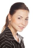 Portrait of a young attractive business woman. Stock Photo