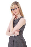 Portrait of Young attractive businesswoman Stock Photography
