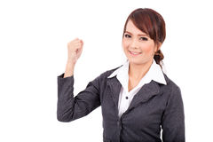 Portrait of a young attractive confident business woman, success, very good Portrait Stock Photos