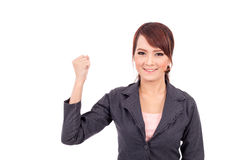 Portrait of a young attractive confident business woman Royalty Free Stock Image