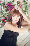 Portrait of a young attractive woman Royalty Free Stock Photo