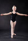 Portrait of young ballet dancer Royalty Free Stock Photos
