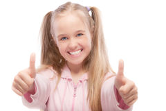 Portrait of young beautiful Royalty Free Stock Photo