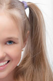 Portrait of young beautiful Stock Photography