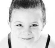 Portrait of young beautiful dancer Royalty Free Stock Images