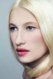 Blond beauty stock image