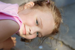 Portrait of young beautiful girl Royalty Free Stock Images