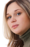 Portrait of the young beautiful girl Royalty Free Stock Images