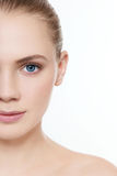 Clear skin Stock Images