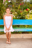 Portrait of young beautiful girl-teenager Royalty Free Stock Photos