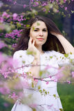 Portrait of a young beautiful girl Royalty Free Stock Photography