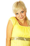 Portrait of a young beautiful woman. Portrait of a young beautiful young woman Royalty Free Stock Photography