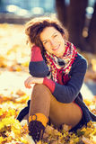 Portrait of young beautiful woman Royalty Free Stock Image