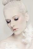 White beauty Stock Photos
