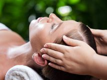 Face spa Stock Photography