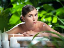 Spa portrait Royalty Free Stock Photo
