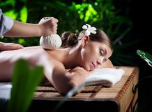 Stamp massage Stock Photos