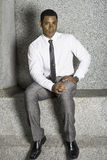 Portrait of Young Black Businessman Royalty Free Stock Images