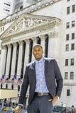 Portrait of Young Black Businessman Stock Photos
