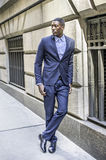 Portrait of Young Black Businessman Royalty Free Stock Photography