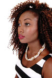 Portrait of young black woman. Royalty Free Stock Photo