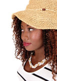 Portrait of young black woman. Royalty Free Stock Photography