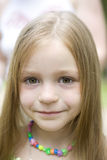 Portrait of young blond girl Royalty Free Stock Photography