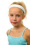 Portrait of young blonde girl Royalty Free Stock Photography