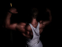 Portrait of a young bodybuilder Stock Photography