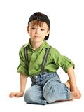 Portrait of young boy Royalty Free Stock Photography