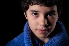 Portrait of young boy royalty free stock images
