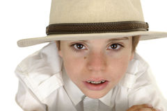 Portrait of a young boy Stock Photo