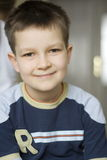 Portrait of young boy Stock Image