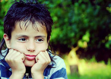Portrait of a young boy Royalty Free Stock Photo