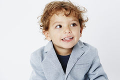 Portrait of a young boy Stock Image
