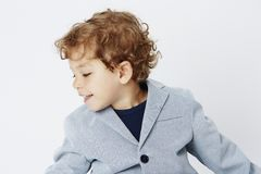 Portrait of a young boy Royalty Free Stock Images