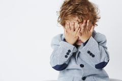 Portrait of a young boy Royalty Free Stock Photos